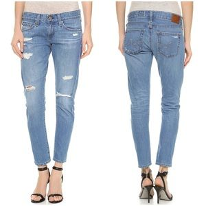 AG Nikki Relaxed Skinny Crop